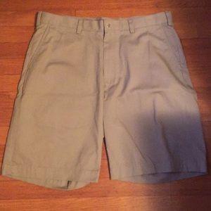 Nautica Flat Front Khaki Shorts